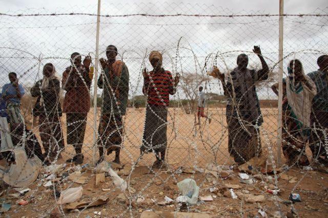 Sequia en Somalia y campos de refugiados por los conflictos derivados