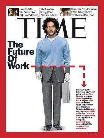 ¿Que aspecto tiene el trabajador del futuro? Premio para el que lo sepa..