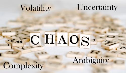 El VUCA o el eufemismo del paradigma del mundo actual, es decir CAOS