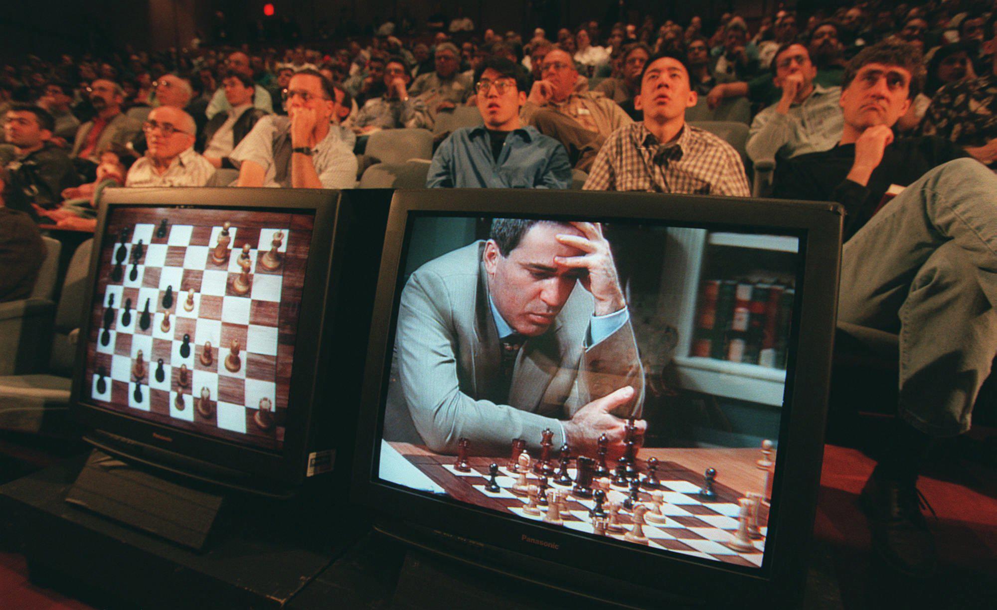 Garry Kasparov contra el Deep Blue en 1997